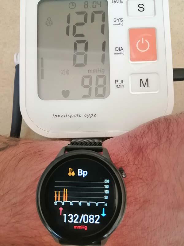 Обзор фитнес-часов HerzBand Elegance ECG-T с измерением температуры, ЭКГ, SpO2 и давления 14
