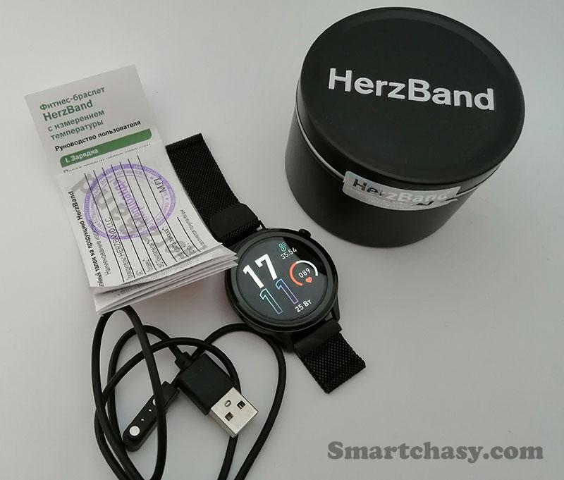 Обзор фитнес-часов HerzBand Elegance ECG-T с измерением температуры, ЭКГ, SpO2 и давления 1