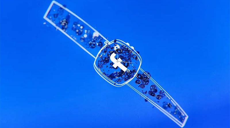 Часы Facebook