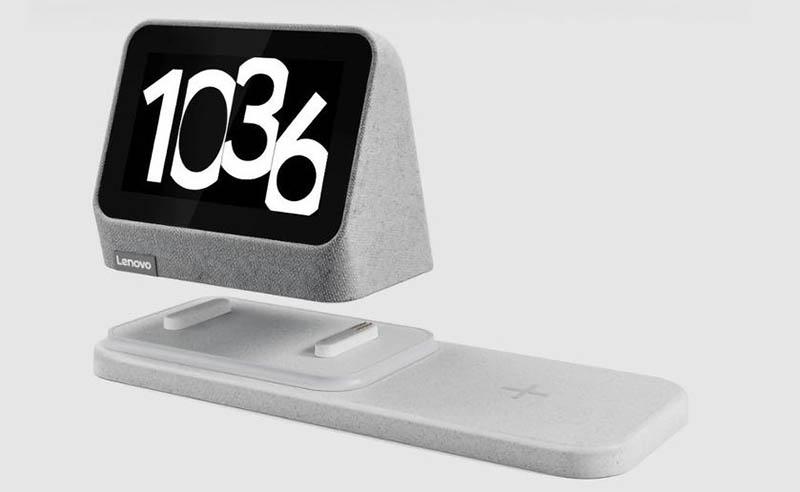 Lenovo Smart Clock 2: настольные «умные» часы с Google Assistant и беспроводной зарядкой 1