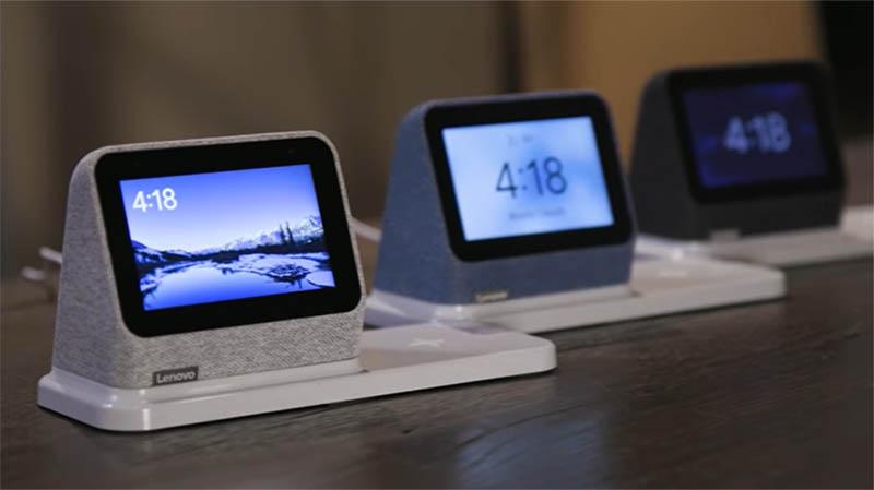 Lenovo Smart Clock 2: настольные «умные» часы с Google Assistant и беспроводной зарядкой 3