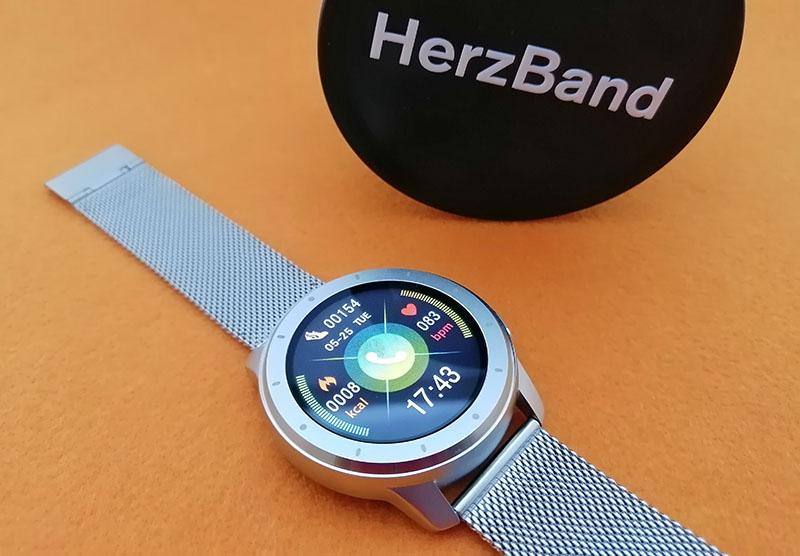 Обзор HerzBand Elegance MX: смарт-часы с измерением давления, звонками и плеером 4