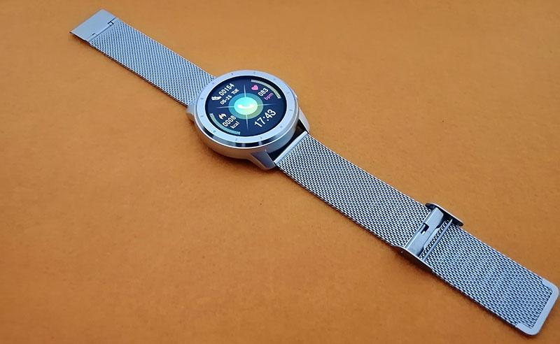 Обзор HerzBand Elegance MX: смарт-часы с измерением давления, звонками и плеером 1