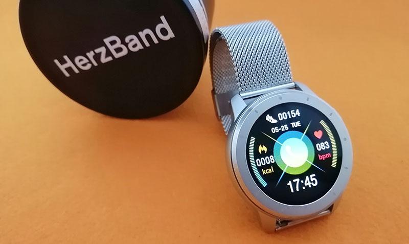Обзор HerzBand Elegance MX: смарт-часы с измерением давления, звонками и плеером 7