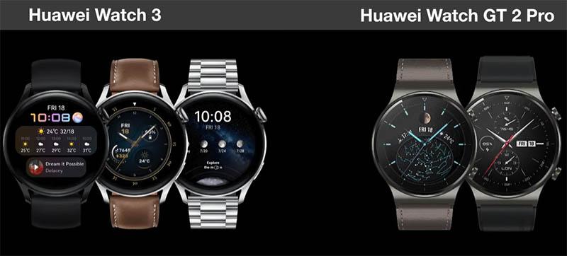 Сравнение Huawei Watch 3 и Huawei Watch GT 2: что изменилось? 1