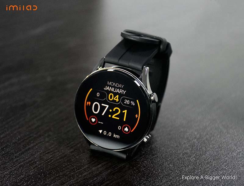 Imilab W12 Smart Watch: смарт-часы с 1,32-дюймовым экраном, IP68 и SpO2 3