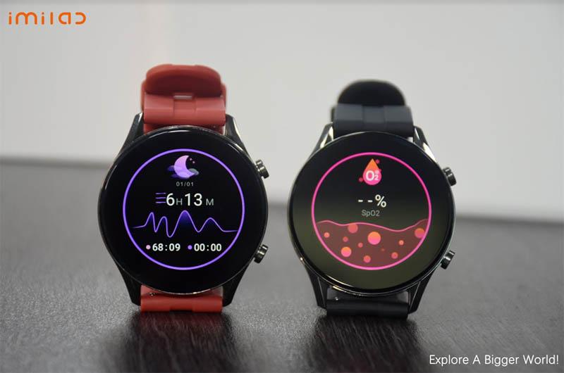 Imilab W12 Smart Watch: смарт-часы с 1,32-дюймовым экраном, IP68 и SpO2 4