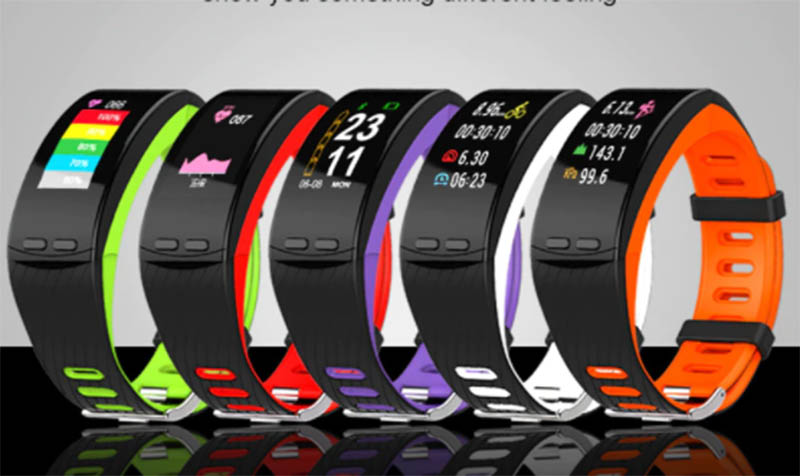 P5 Plus Smartband