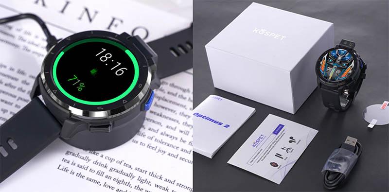 Kospet Optimus 2: часы-телефон с 4/64 ГБ памяти, поворотной камерой Sony, GPS и 4G 3