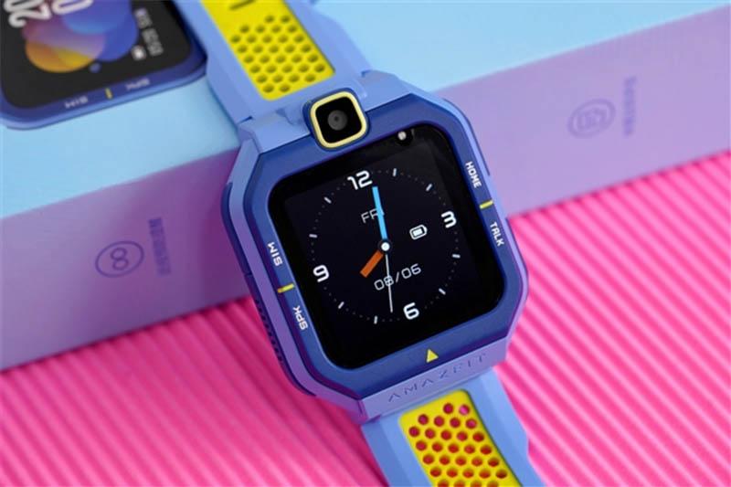 Amazfit Happy Duck Children's SmartWatch: смарт-часы для детей с LTE, GPS встроенной камерой и IP68 1