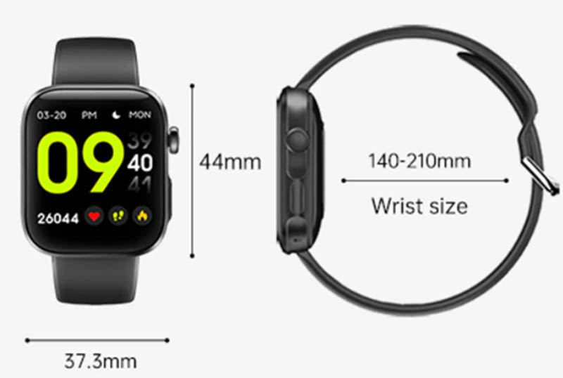 Ninkear GT3 Pro: фитнес-часы с функцией Bluetooth-звонков за $30 2
