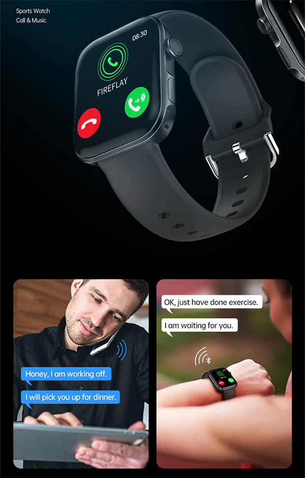 Ninkear GT3 Pro: фитнес-часы с функцией Bluetooth-звонков за $30 1