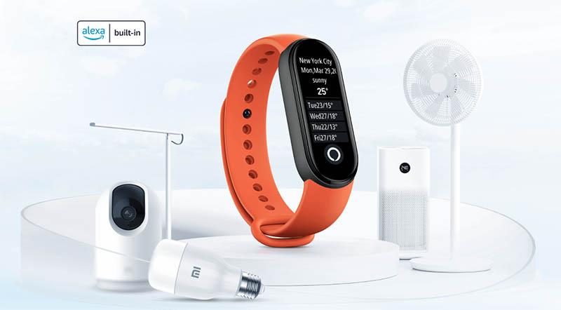 Xiaomi выпустила европейскую версию Xiaomi Mi Band 6 NFC