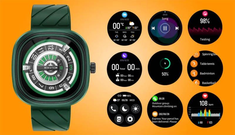 Doogee DG Ares: смарт-часы с необычным дизайном за 32$ 1