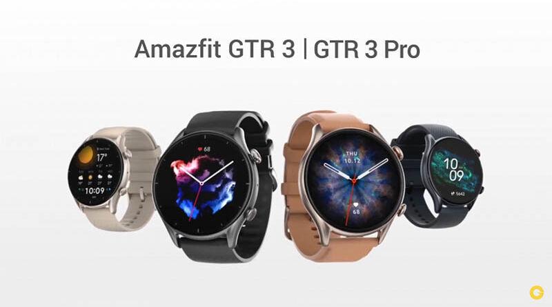 Amazfit GTR 3 и Amazfit GTR 3 Pro